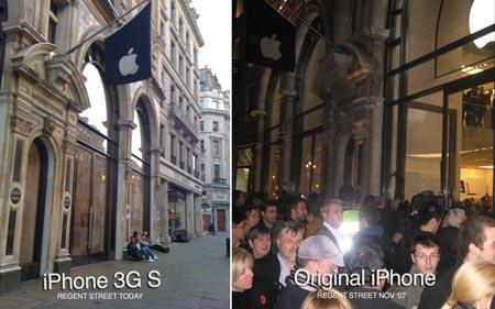 iphone-3g-s-vs-original-iphone-regent-st