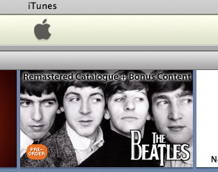 La música de The Beatles en iTunes ha ayudado a revertir la decadencia del mercado de la música 3