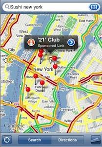 Cómo insertar Google Maps como app web en tu terminal iOS 6 3