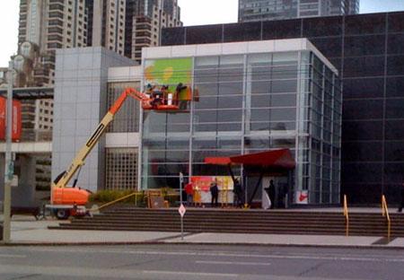 Apple ya está preparando el Yerba Buena Center para el evento del Miércoles 27 3