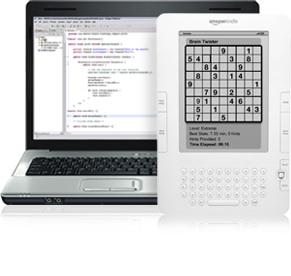 Amazon anuncia una tienda de aplicaciones para Kindle y lanza el kit de desarrollo 3