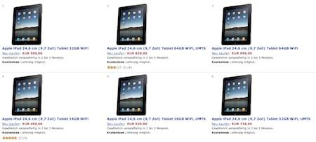 Amazon ofrece el iPad 200€ más caro 3