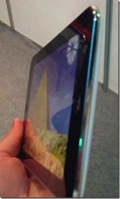 Aparece una imagen del supuesto tablet de Apple 3
