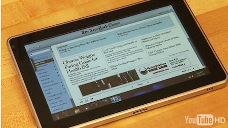"""Nuevas imagenes del """"tablet de verdad"""" 5"""