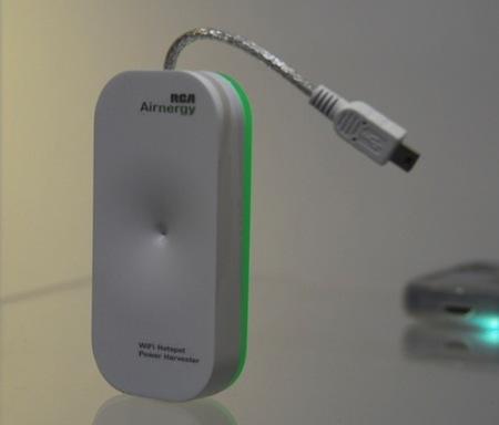 [CES 2010] Cargando la batería del iPhone vía Wi-Fi 3