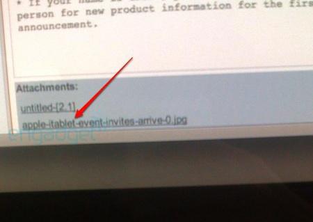 El nombre iTablet aparece en los correos internos de Apple 3