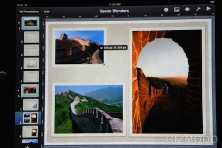 Apple Keynote: Un iWork totalmente desarrollado desde cero para el iPad 5