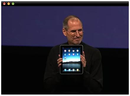 El vídeo de la presentación de la iPad ya está disponible en la web de Apple 3
