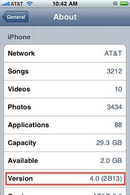 Desveladas algunas características del software iPhone 4.0 y primera imagen 3