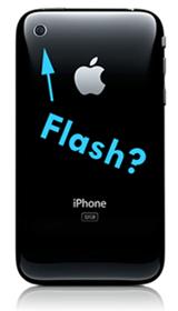 Rumor: Apple podría añadir un flash LED a la cámara fotográfica del iPhone 3