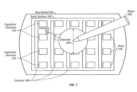 Apple podría estar investigando la manera de utilizar un Stylus en el iPhone junto con interfases de usuario contextuales 3