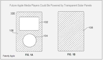 Apple podría estar trabajando en iPods e iPhones con paneles solares 3