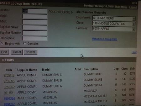 Best Buy tiene tres códigos de productos desconocidos 3