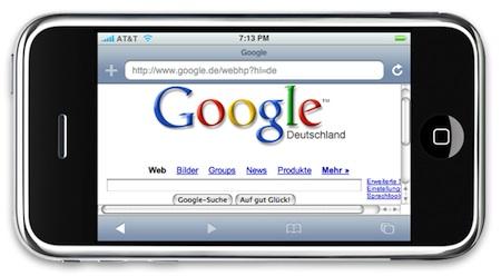 Google paga 100 millones de dólares al año a Apple por las búsquedas del iPhone 3