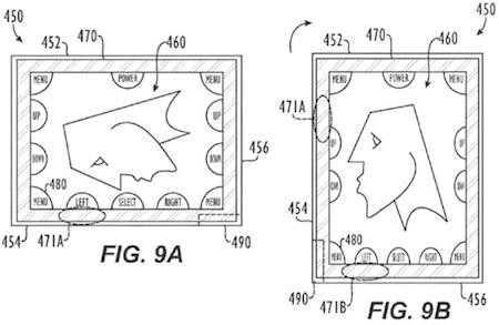 Apple obtiene una patente de rotación de controles multitouch según la orientación del dispositivo 3