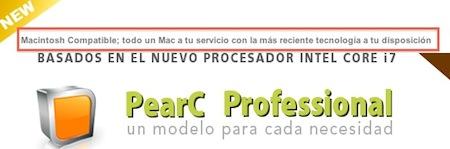 PearC España vende desde hace casi un año ordenadores no-Apple con Mac OS X dentro de la legalidad 12