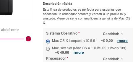 PearC España vende desde hace casi un año ordenadores no-Apple con Mac OS X dentro de la legalidad 14