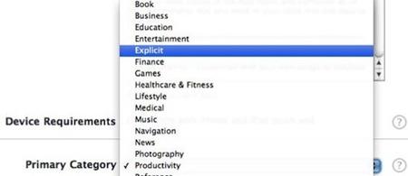 Se crea una nueva categoría en iTunes Connect 3