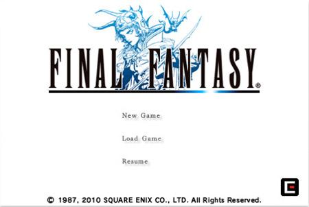 Final Fantasy I y II finalmente llegan al iPhone 3