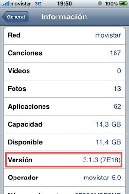 Software iPhone OS 3.1.3 ya disponible para su descarga 3