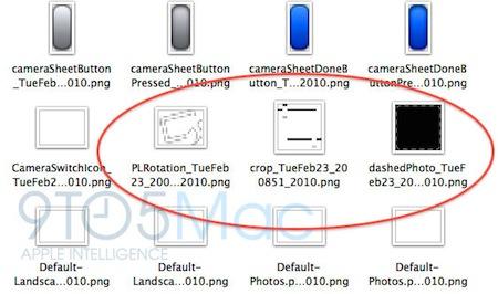El software iPhone OS podría permitir editar fotografías 3