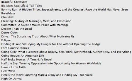 Filtrada la posible lista de libros de la iBookstore para el lanzamiento del iPad 3