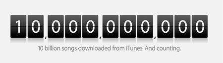 Apple vendió la canción número 10 mil millones el día de ayer 3