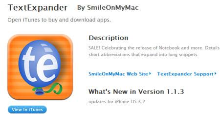 Aparece la primera aplicación compatible con el iPhone Software 3.2 3