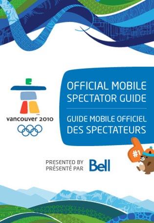 La guía de los Juegos Olímpicos y Paralímpicos de Invierno Vancouver 2010 ya está disponible para el iPhone 3