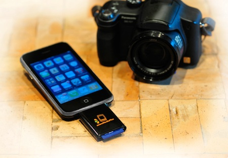 ZoomIt permite leer tarjetas SD en el iPhone 3