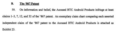La demanda de Apple contra HTC apunta también a Google y alcanza incluso a Microsoft 6
