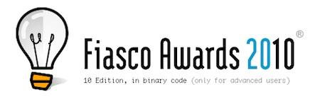 El Fiasco Awards 2010 es el iPad 3