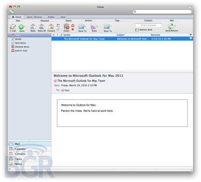 Primeras capturas de pantalla de Office 2011 para Mac 3