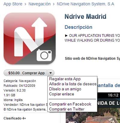 Comienza a obsequiar aplicaciones por medio de la App Store 3