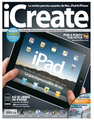 Llega a España iCreate, la revista pensada por y para usuarios y entusiastas de Apple 3