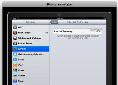 El iPad podría soportar tethering, pero Steve Jobs dice que no será así... ¿seguro? 3