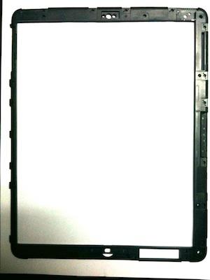 Filtrado el marco externo del iPad: incluye un hueco para colocar una cámara 6