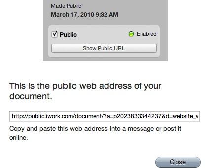 Apple actualiza iWork.com y ahora permite compartir documentos en el iPod touch, iPhone e iPad 7