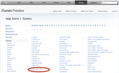 Aplicaciones para el iPad comienzan a aparecer en iTunes Preview 3