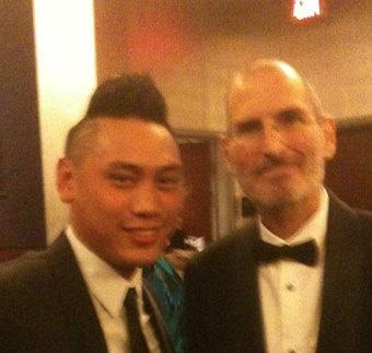 Steve Jobs asiste a la ceremonia de los Oscars 6