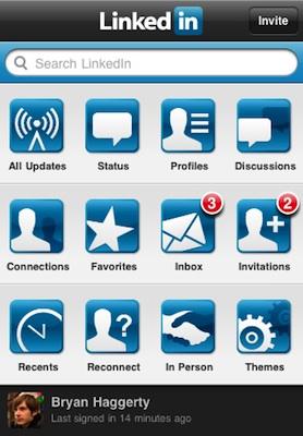 LinkedIn para el iPhone se actualiza a la versión 3.1 3