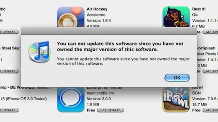 iTunes no puede actualizar dispositivos asociados a más de una cuenta 3