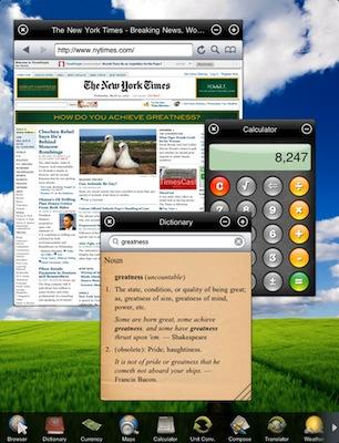 Apple rechaza una aplicación para iPad que hace las veces de Dashboard 3