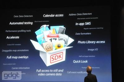 Keynote iPhone OS 4: Características principales y nuevas funciones. Llega la multitarea! 3