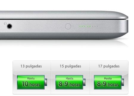 Apple estira aún más la autonomía de las baterías de los nuevos MacBook Pro 3
