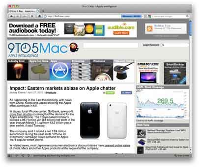 El navegador Opera 10.52 ya está disponible para Mac OS X 3