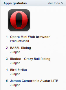 Opera se convierte en la descarga gratuita más popular de la App Store en todo el mundo 3