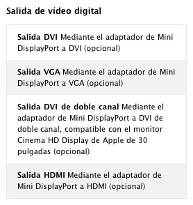 Apple tiene listo un adaptador Mini DisplayPort - HDMI 3