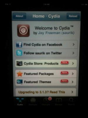 Cydia, a punto de saltar al iPad 3