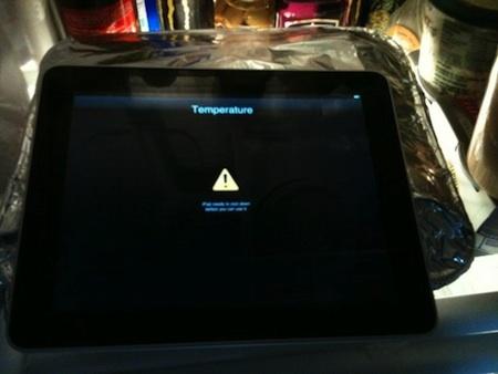 Primer caso de sobrecalentamiento del iPad 3
